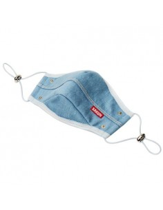 [SAKUN] A-UNDER DENIM MASK(LIGHTBLUE)