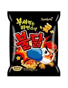 SAMYANG Broken Fire Hot Chicken Ramen Snack 90g