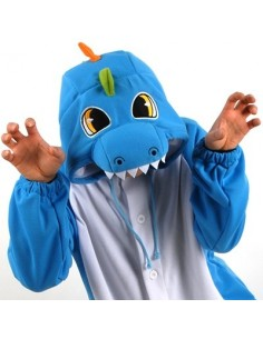 [PJB229] Animal Pajamas - Dinosaur (Blue)