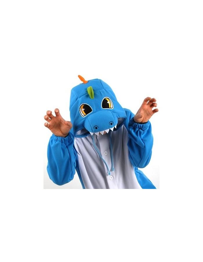 [PJB229] Animal Pajamas - Dinosaur (Blue)