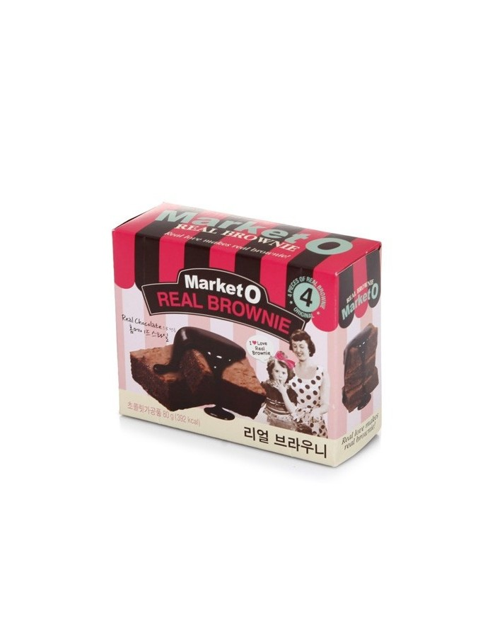 [Market O] Real Brownie 80g (4ea)