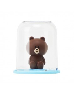 [LINE FRIENDS Goods] Brown Figure Holder & Cup Set