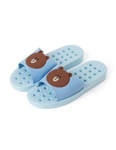 [LINE FRIENDS Goods] Brown Bathroom Slipper