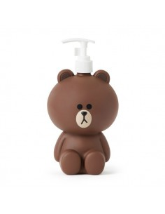 [LINE FRIENDS Goods] Brown Bathroom Dispenser
