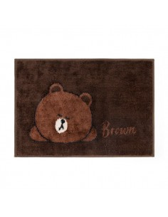 [LINE FRIENDS Goods] Brown Blanket Matt