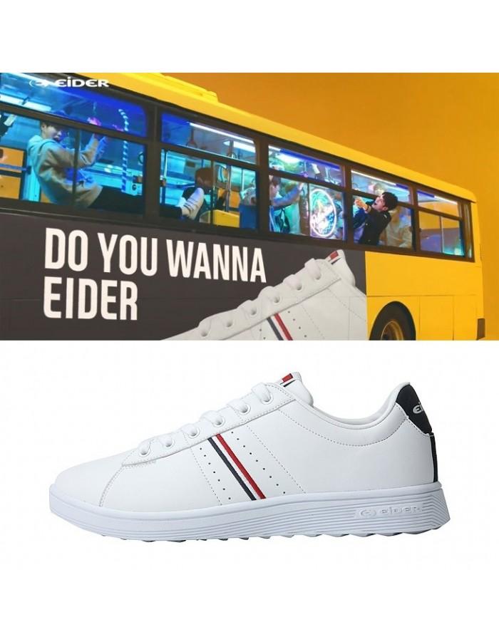Wanna one x Eider Corse White Shoes