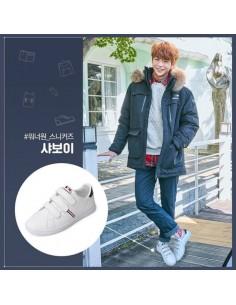 [Pre Order] Wanna one x Eider Savoy White Shoes