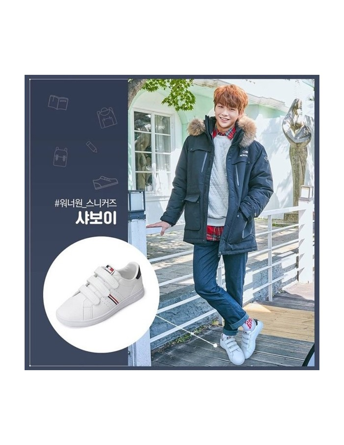 [Pre Order] Wanna one x Eider Savoy White Shoes