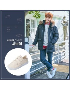 [Pre Order] Wanna one x Eider Savoy Pink Shoes