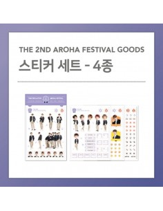 STICKER SET - ASTRO 2018 The 2nd AAF Goods