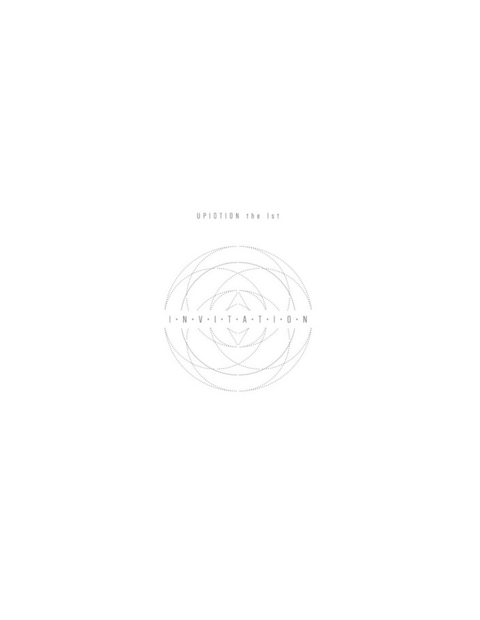 UP10TION 1st ALBUM - Invitation ( Silver Ver ) CD + Poster