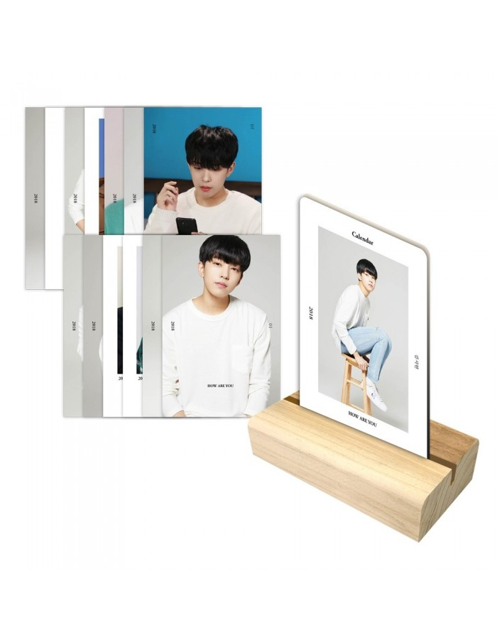 Kim Shi Hyun - How Are You Photocard Calender