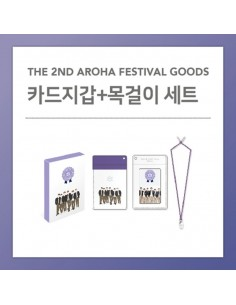 CARD WALLET + NECKLACE SET - ASTRO 2018 The 2nd AAF Goods