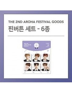 PIN BUTTON SET - ASTRO 2018 The 2nd AAF Goods