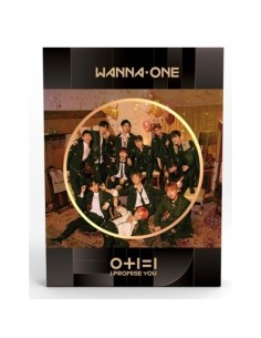 WANNA ONE 2nd Mini Album - I Promise You [Night Ver] CD + Poster