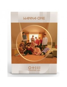WANNA ONE 2nd Mini Album - I Promise You [DAY Ver] CD + Poster