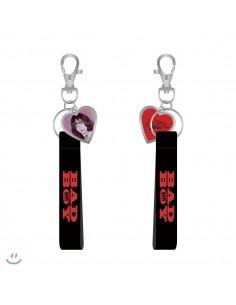 RED VELVET - Heart Strap Keyring