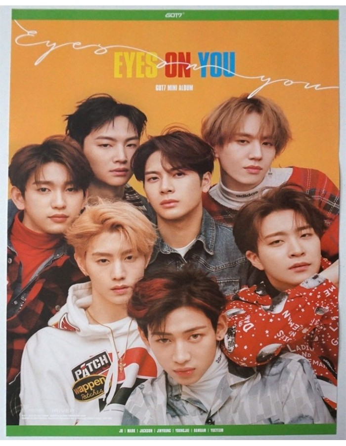 [Poster] GOT7 Eyes On You Poster (On Ver)
