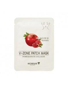 [Skin Food] Pomegranate Collagen V-Zone Patch Mask 15g