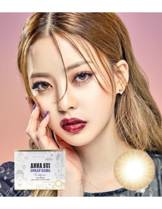 [ O-Lens ] ANNA SUI Dolly Girl - Tint Brown (2weeks/4p) (Prescription)