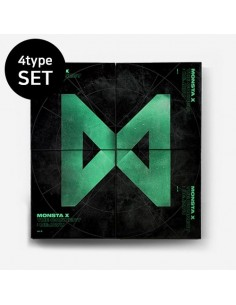 [SET] MONSTA X 6th Mini Album - The Connect : DEJAVU (I+II+III+IV Ver) CD + Poster