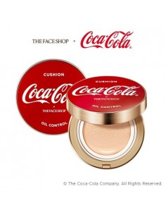 [Thefaceshop] Coca Cola Oil Control Water Cushion 15g