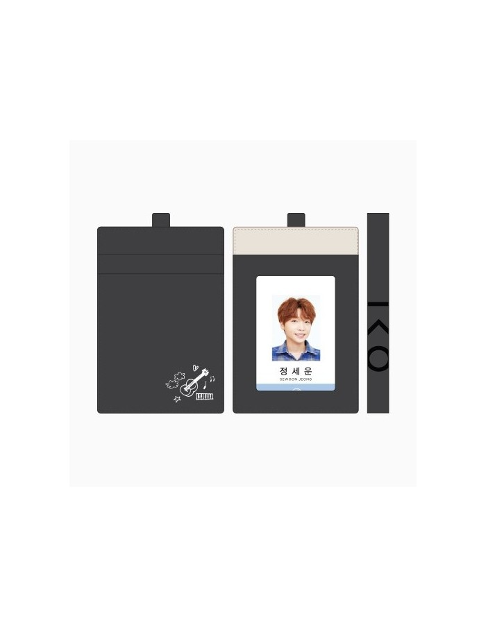 Jung Se Woon 1st Fanmeeting Goods - ID Case