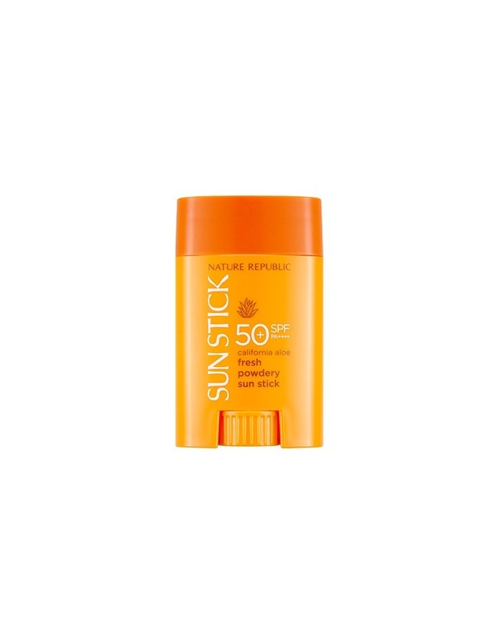 [ Nature Republic ] Califormia Aloe Fresh Powdery Sun Stick SPF50+ PA++++