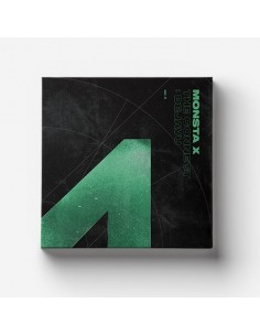 MONSTA X 6th Mini Album - The Connect : DEJAVU CD + Poster (Ver.II)