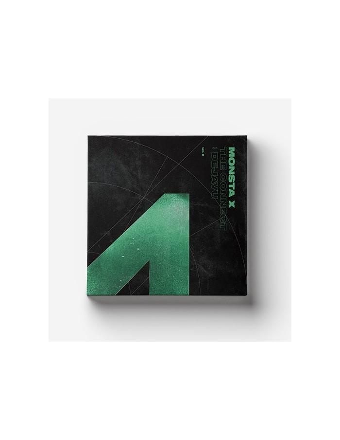 MONSTA X 6th Mini Album - The Connect : DEJAVU CD + Poster (Ver.II)