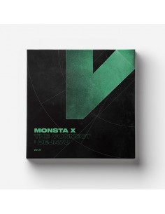 MONSTA X 6th Mini Album - The Connect : DEJAVU CD + Poster (Ver.III)