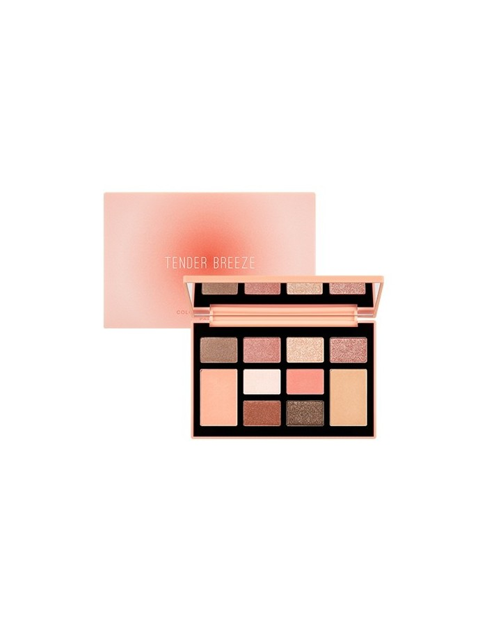 [MISSHA] Color Filter Shadow Palette [Tender Breeze]