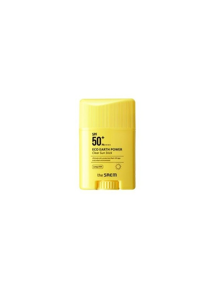 [the SAEM] Eco Earth Power Clear Sun Stick SPF50+ PA++++ 16g