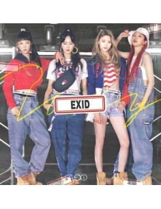 EXID Single Album - Do It Tomorrow CD + Poster [Pre-Order]
