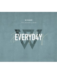WINNER 2nd Album - EVERYD4Y(Day ver) CD + Poster
