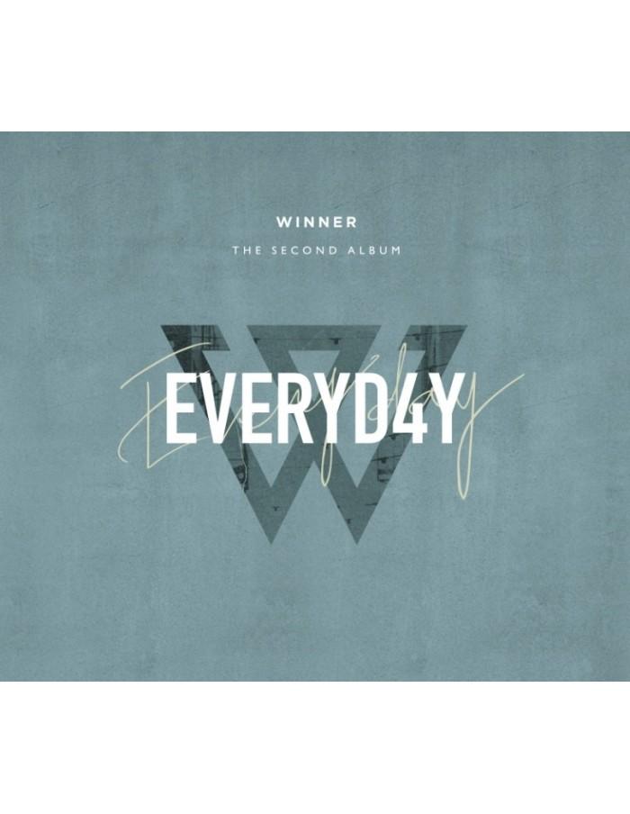 WINNER 2nd Album - EVERYD4Y(Day ver) CD + Poster