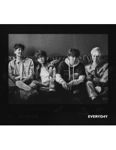 WINNER 2nd Album - EVERYD4Y(Night ver) CD + Poster