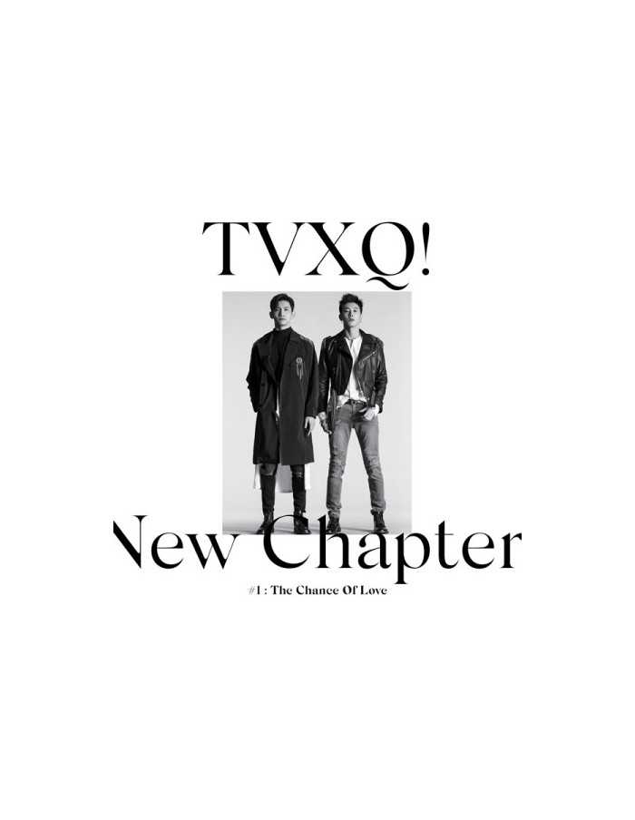 TVXQ 8th Album - New Chapter 1 : The Chance Of Love CD + Poster (Random Version)