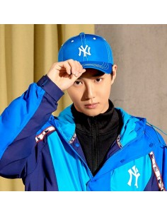 EXO X MLB New Crew - Stitch Slider Curve Control Ball Cap Blue