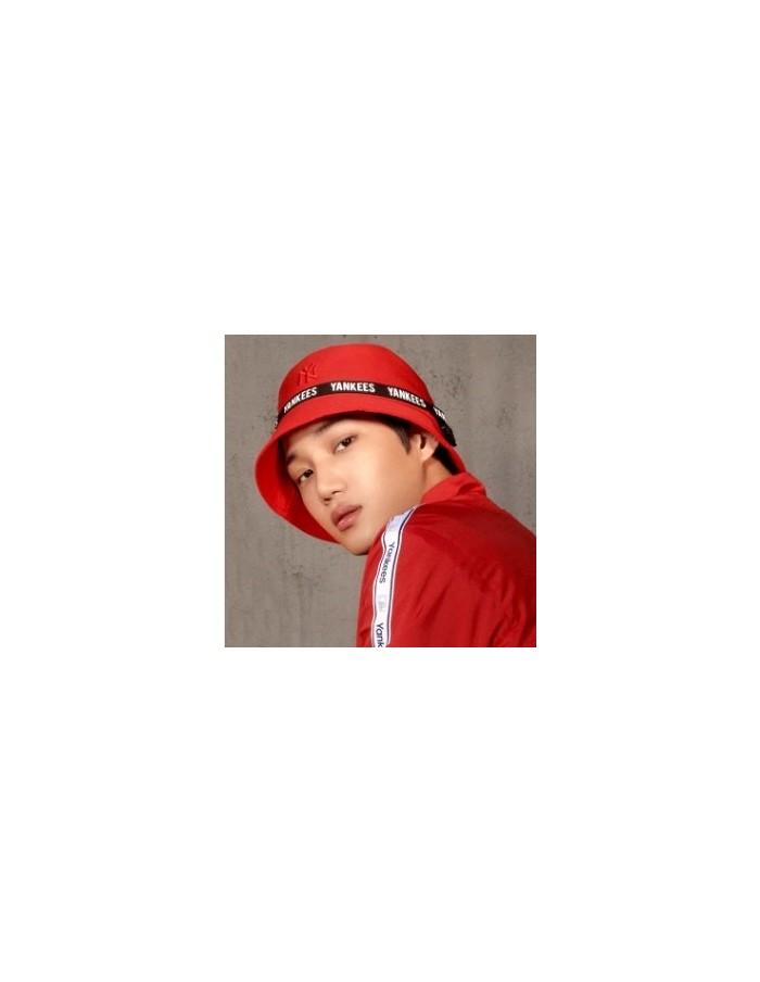 EXO X MLB New Crew - Webbing Strap Hat Red