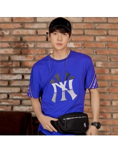 EXO X MLB New Crew - Worthing Slim Waist Bag Black