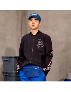 EXO X MLB New Crew - Webbing Color Point Hipsack Blue