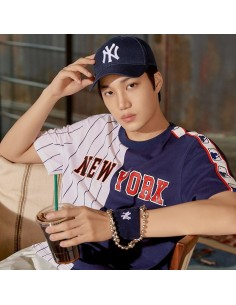EXO X MLB New Crew - Original One Point Curve Control Cap Navy
