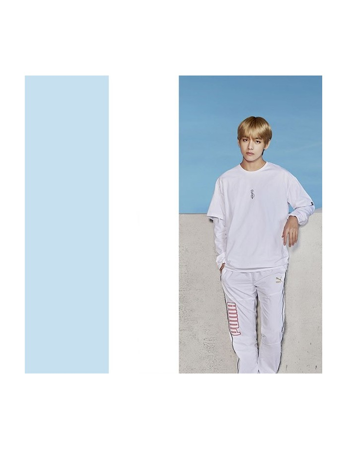 BTS x PUMA LS TM SS TEE White