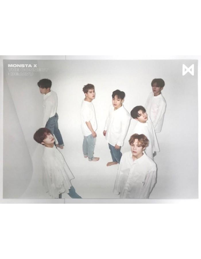 [Poster] MONSTA X 6th Mini Album - The Connect : DEJAVU Poster iii