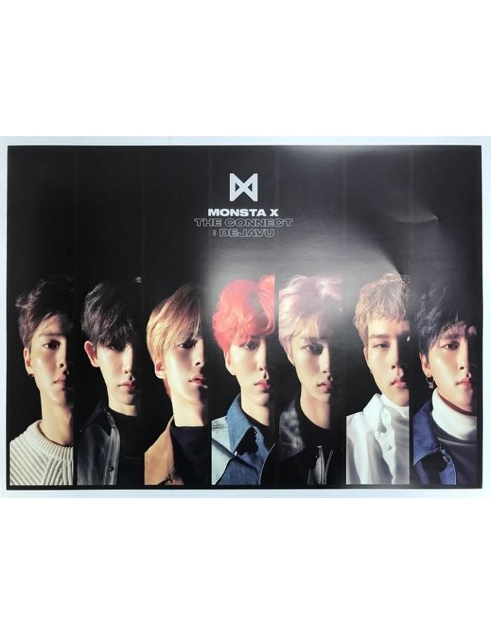 [Poster] MONSTA X 6th Mini Album - The Connect : DEJAVU Poster iv
