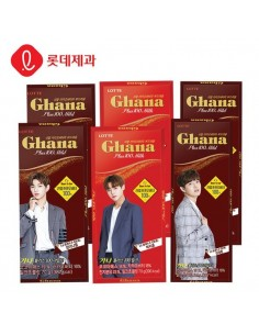 LOTTE GHANA X WANNA ONE Ghana Plus 100(Mild / Milk)