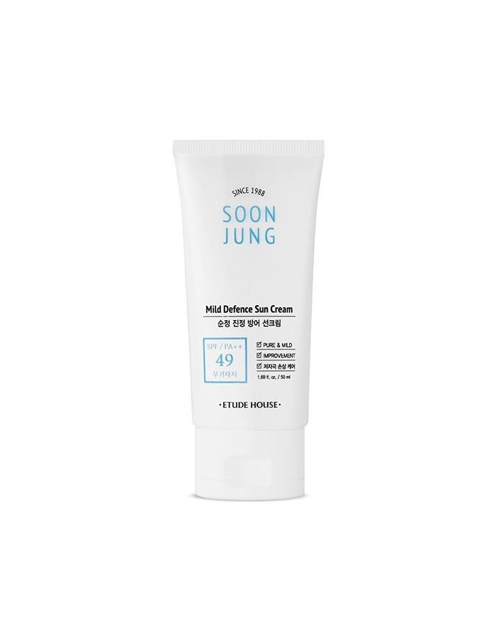 [Etude House] SOON JUNG Mild Defence Sun Cream 50ml