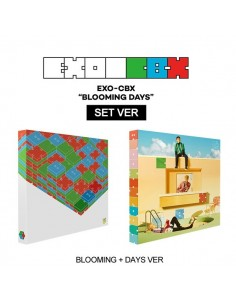 [SET] EXO - CBX 2nd Mini Album - Blooming Days CD + Poster (Blooming + Days Ver)