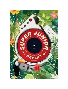 [SPECIAL EDITION] Super Junior 8th Album Reapackage Replay  CD + POSTER [Pre-Order]